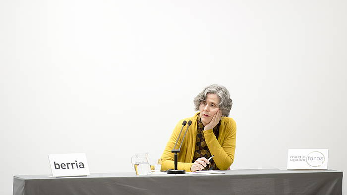 Mari Luz Esteban 'Feminismoaren erronkak' hitzaldia
