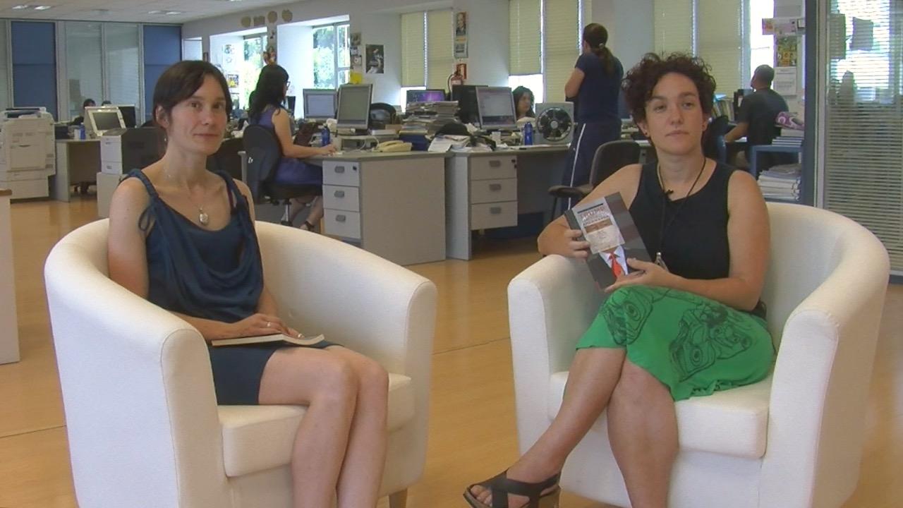 Arantxa Elizegi, 'Trump, amesgaizto amerikarra' liburuaren koordinatzailea