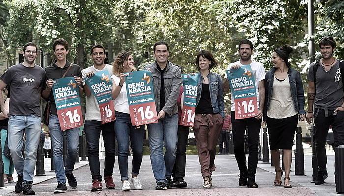 Kataluniako erreferenduma babesteko, mobilizazioaren aurkezpena