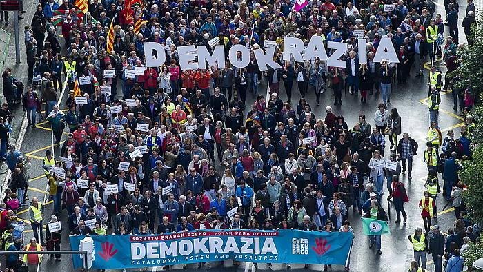 Gure Esku Dago-ren manifestazioa