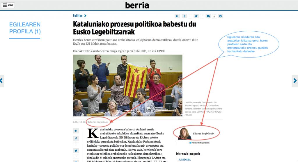 Egilearen profila aktibatu da BERRIAren webgunean.
