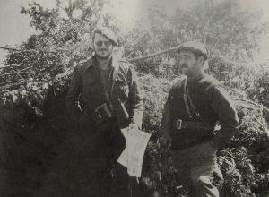 Bi errekete Somosierrako (Madril, Espainia) frontean.