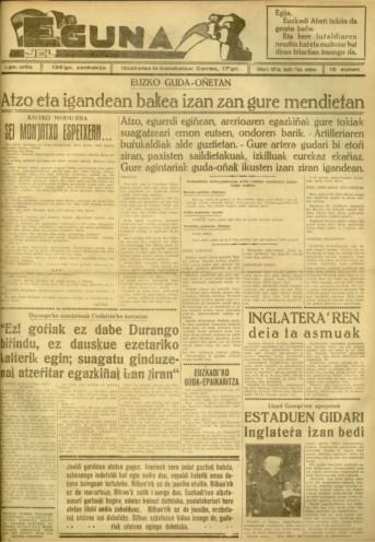 Durangoko'ko monjatxoak Ondarreta'ko kartzelan