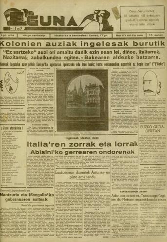 Euzkotarron ikurri�ak Asturias'en pisto ematen du