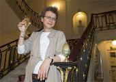 Ana Kokkinosen 'Blessed' filmak gidoi onenaren saria jaso du (2009-09-26)