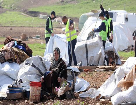 Herri palestinar baten eraistea