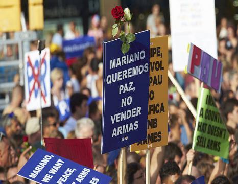 Manifestazioa Bartzelonan