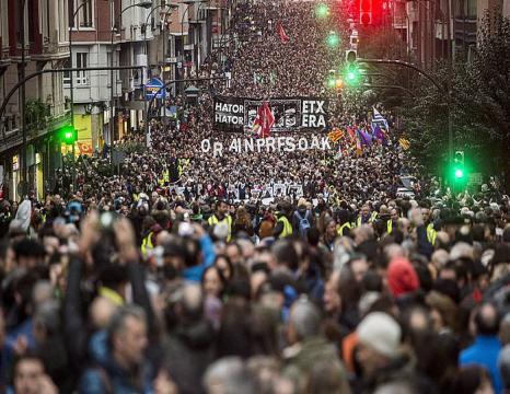 'Orain Presoak' manifestazioa