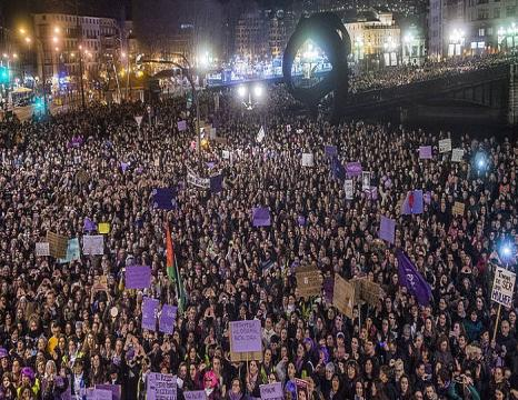 2019ko greba feminista, Martxoak 8