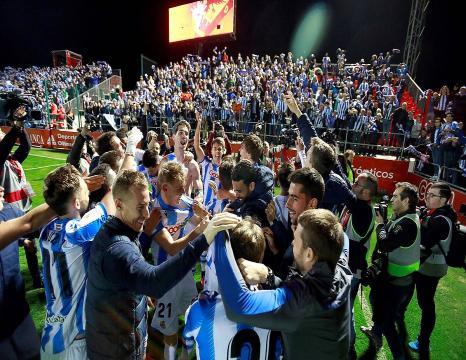 Reala Espainiako Kopako finalean da