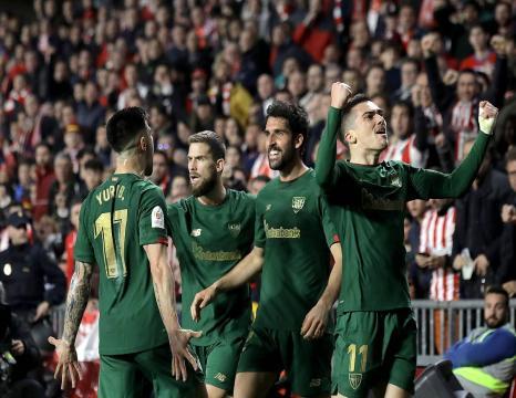 Athletic Espainiako Kopako finalera heldu da