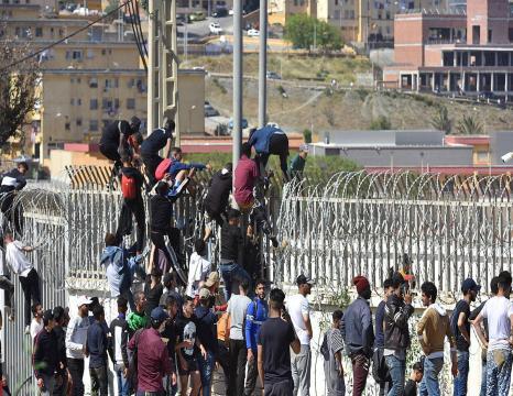 Ceutako migrazio krisia
