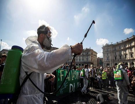Klima aldaketaren aurkako manifestazioak munduan zehar