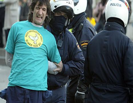 Zuzenen ekintza Madrilen, sakabanaketaren aurka