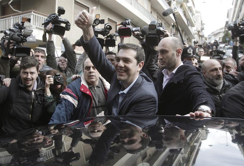 Alexis Tsipras, bozkalekura iristen.