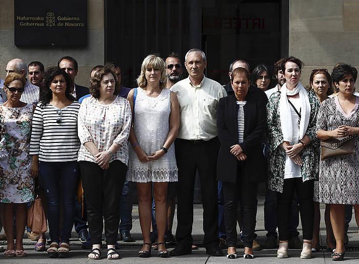 Nafarroako gobernuaren omenaldia