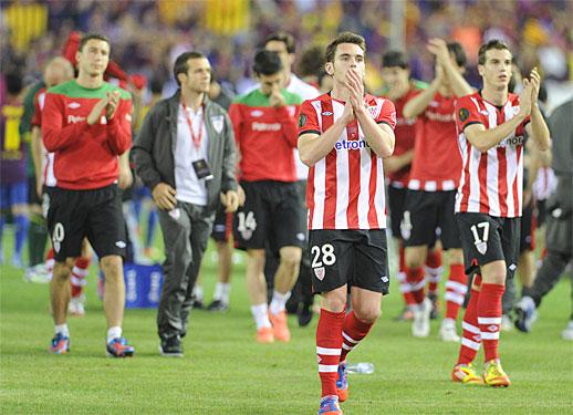 Athleticeko jokalariak, Espainiako Kopako finala galdu ostean