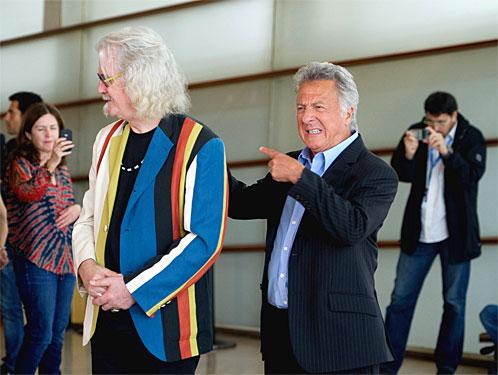 Billy Connolly eta Dustin Hoffman, Donostian