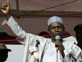 Umaru Yar'Adua.