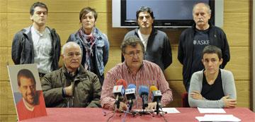 Udalbiltzako auzipetu batzuk gaur, Donostian. ©/ Argazki Press