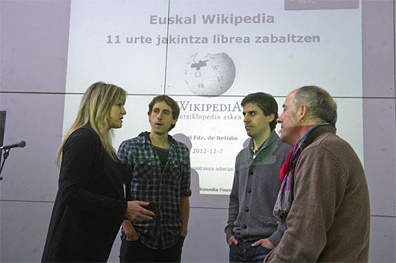 Euskarazko wikipedia elikatzeko egitasmoa.