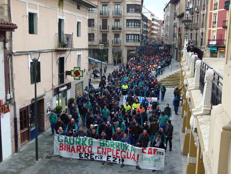 Gaurko manifestazioa, Beasainen.