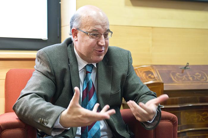 Juan Kalparsoro EAEko Auzitegi Nagusiko fiskalburua.