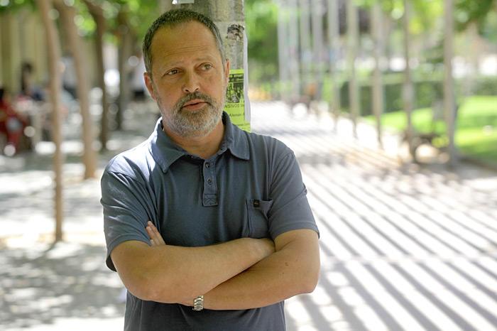 Javier Mira Valentziako Unibertsitateko irakaslea. ©Rafa Gil