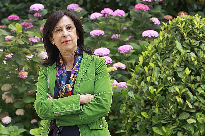 Margarita Robles magistratua. ©Marta Jara / Argazki Press
