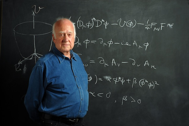 Peter Higgs.