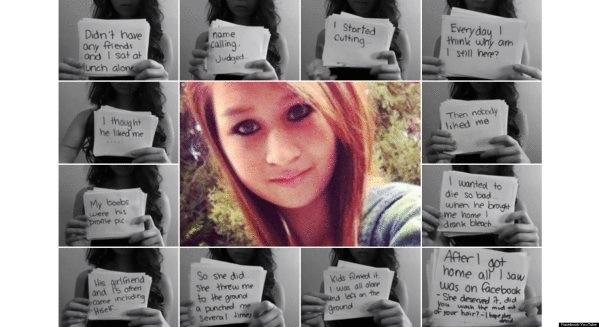 Amanda Todd 15 urteko gazteak bere buruaz beste egin zuen iaz, hainbat hilabetez Internet bidezko jazarpenaren biktima izan ostean.