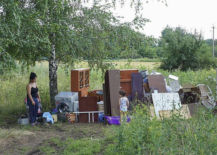 Milaka pertsona ihes egitera behartu ditu Ukrainako gatazkak.