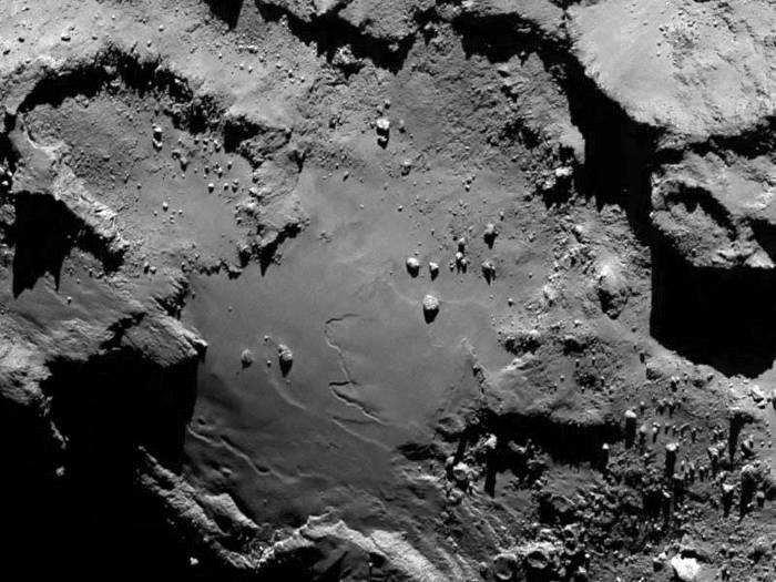 Osiris kamerak ateratako Rosettaren irudia. /