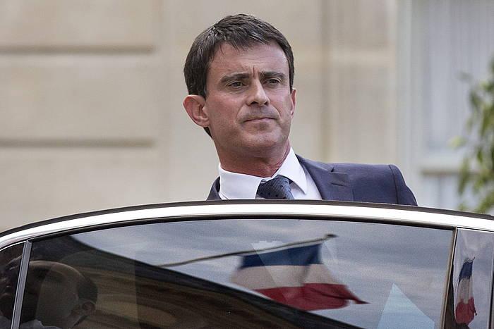 Manuel Valls Frantziako lehen ministroa.