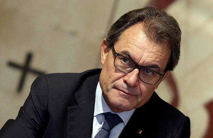 Artur Mas presidentea, Bartzelonan.
