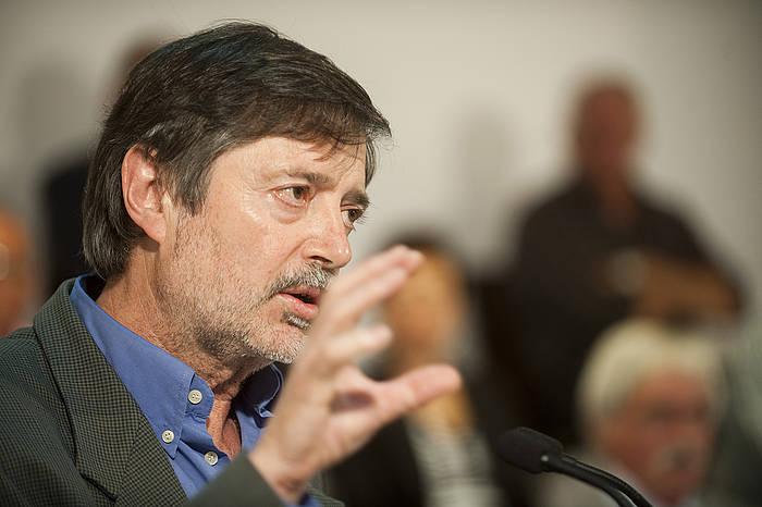 Rafa Diez Usabiaga, 2011ko irudi batean. / ©Juan Carlos Ruiz, Argazki Press