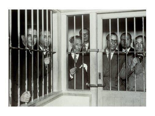 Kataluniako Gobernuko kideak, preso, urriaren 6ko gertakariak zirela-eta.