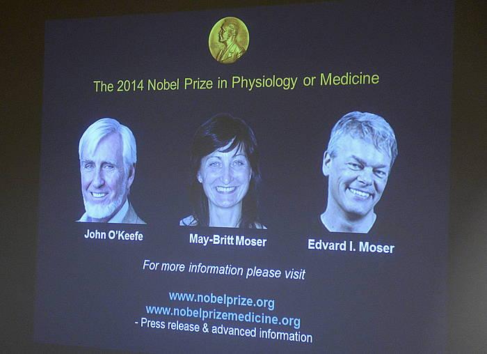 Medikuntzako Nobel saridunak. /