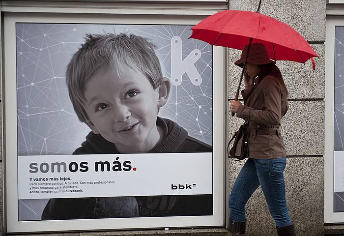 Kutxabank izan da Espainiako Estatuan kaudimen tasarik altuena lortu duen finantza erakundea.