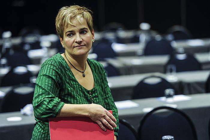 Rebeka Ubera, Aralarreko idazkari nagusia.