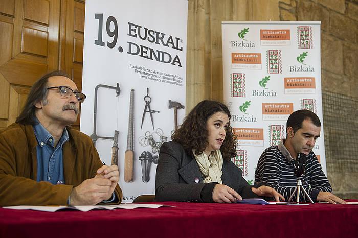19. Euskal Dendaren aurkezpena. / ©Monika del Valle, Argazki Press