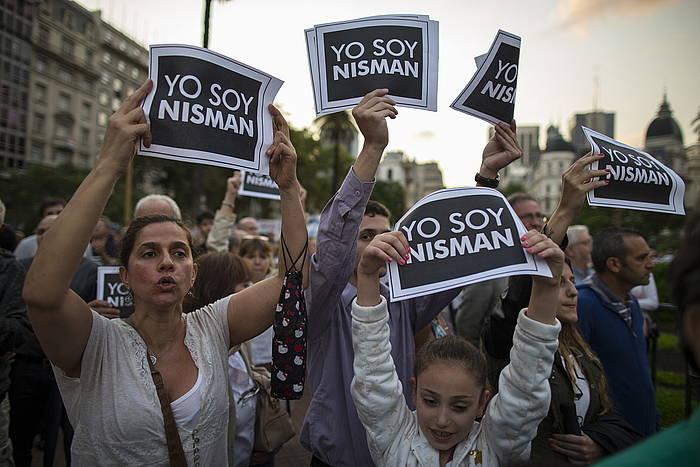 Argentinan protesta ugari eragin du Nismanen heriotzak. /