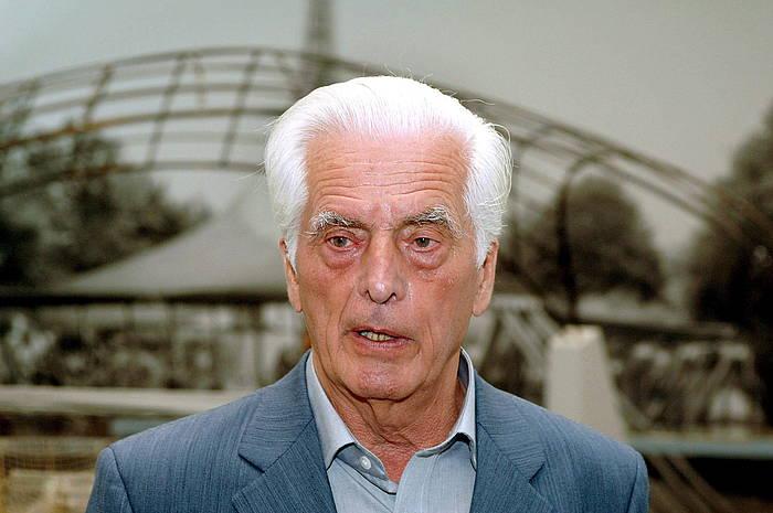 Frei Otto (1925-2015) arkitekto alemaniarra./