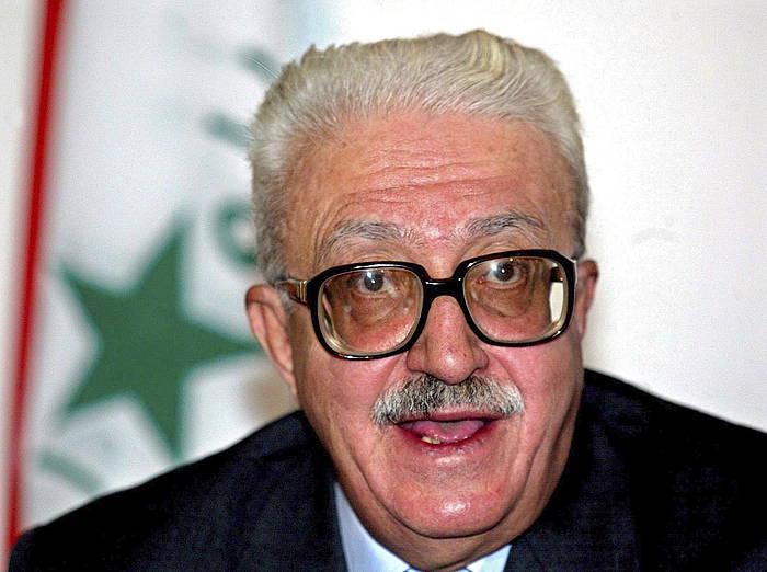 Tarik Aziz izan zen Saddam Husseinen diplomazia burua./