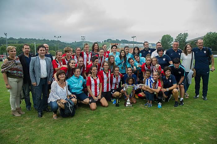 Athleticek laugarrenez irabazi du Euskal Herriko Kopa.