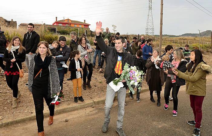Arkaitz Rodriguez, kartzelatik atera berritan./ ©JAIZKI FONTANEDA / ARGAZKI PRESS