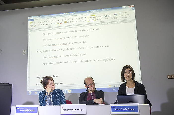Xuxen-5, Euskarazko zuzentzaile ortografiko eta gramatikalaren azken bertsioa aurkezpena./