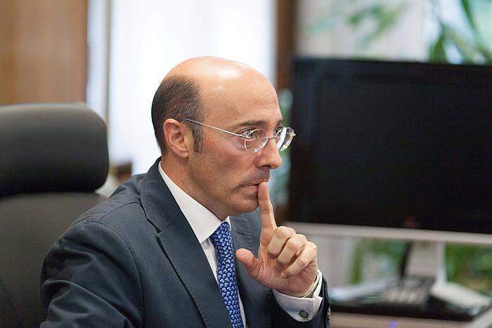 Carlos Urkijo, artxiboko irudi batean./ ©David Aguilar / Argazki Press