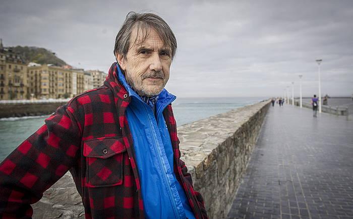 Ramon Saizarbitoria idazlea, Donostian.