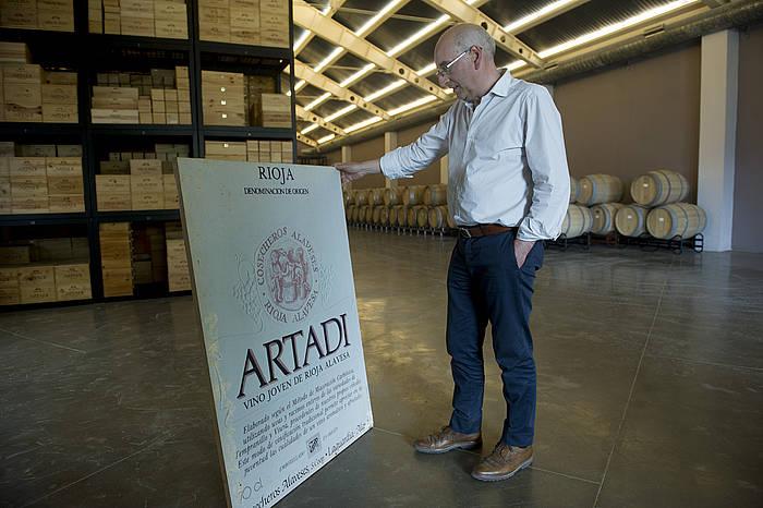 Artadi upategien jabea da Juan Carlos Lopez de la Calle.